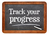 Track your progress advice on blackb oard