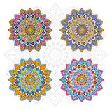Mandala different color set