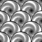 Design seamless monochrome twirl background
