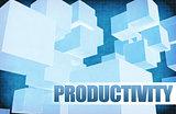 Productivity on Futuristic Abstract