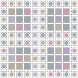Abstract geometric seamless pattern with grey squares background
