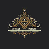 Design logo and monograms