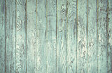 faded turquoise painted wood