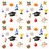 Education Seamless Pattern