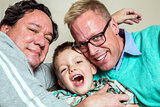 Gay Couple with Young Son