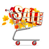 Autumn Sale Shopping Cart