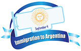 Banner Immigration in Argentina