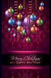 2016 Merry Chrstmas and Happy New Year Background
