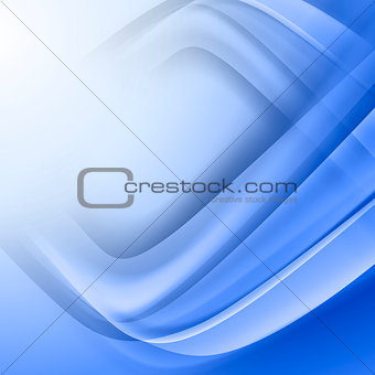 Abstract blue vector background