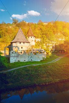 Ancient stone castle