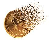 Bitcoin Falls Apart To Pixels