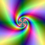 Neon Lighthouse Spiral