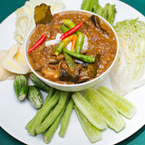preserved vegetables ,thai food