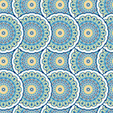 Ornamental seamless pattern, background with many details. Ethnic traditional ornament. Vector illustration