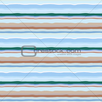 Abstract geometric seamless pattern with multicolored lines. Geometrical wallpaper in pastel colors.