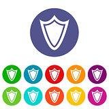 Shield flat icon
