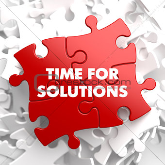 Time For Solutions on Red Puzzle.