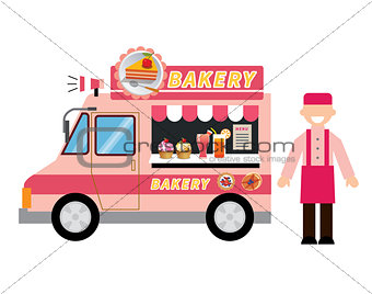 food truck bakery