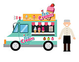 food truck ice cream