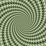 Dizzy Swirl in Green