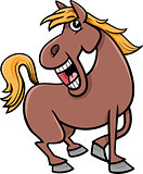 horse animal cartoon