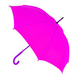 purple umbrella on a white background
