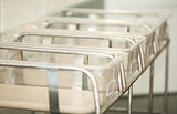 Baby containers in the maternity hospital