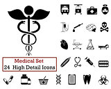 24 Medical icons