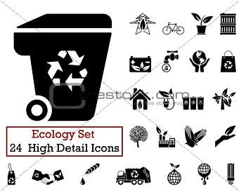24 Ecology Icons