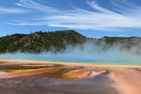 The Magnificent and Magical Grand Prismatic Spring in Midway Geyser Basin of Yellowstone National Park
