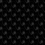 Dark floral nature seamless pattern design