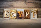 Egypt Concept Letterpress Theme