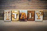 Italy Concept Letterpress Theme