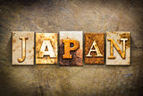 Japan Concept Letterpress Leather Theme