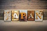 Japan Concept Letterpress Theme