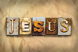 Jesus Concept Rusted Metal Type