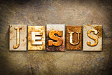 Jesus Concept Letterpress Leather Theme