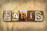 Paris Concept Rusted Metal Type