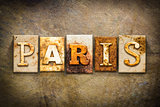 Paris Concept Letterpress Leather Theme