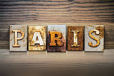 Paris Concept Letterpress Theme