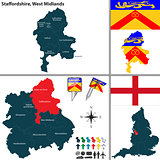Staffordshire, West Midlands, UK