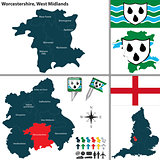 Worcestershire, West Midlands, UK