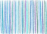 irregular blue purple lines pattern over white