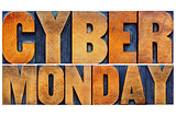 Cyber Monday - internet shopping concept