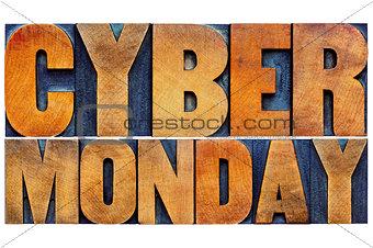 Cyber Monday - internet shopping concept