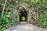 Katy Trail tunnel