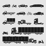 Vector Symbol Set Car