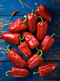 Red organic pepper