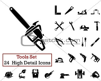 24 Tools Icons