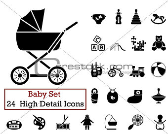 24 Baby Icons